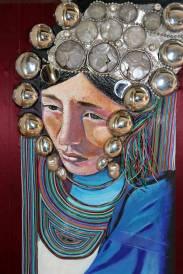 Peinture Michèle Babilotte femme