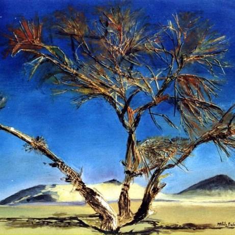 Peinture Michèle Babilotte arbre
