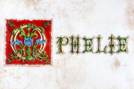 Monogramme prénom Ophélie